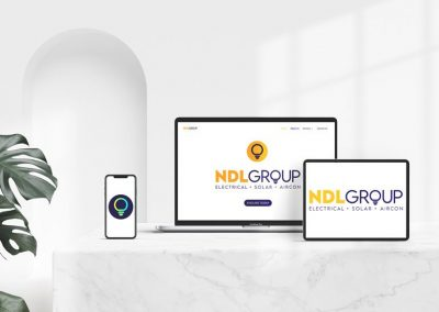 Company Branding and Logo Design for NDL Group Pty Ltd