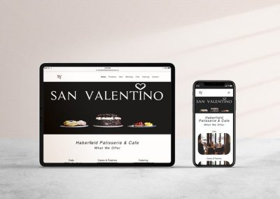 Website Design and Social Media Marketing for San Valentino Haberfield