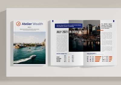 Magazine Design For Mortgage Broker – Atelier Wealth