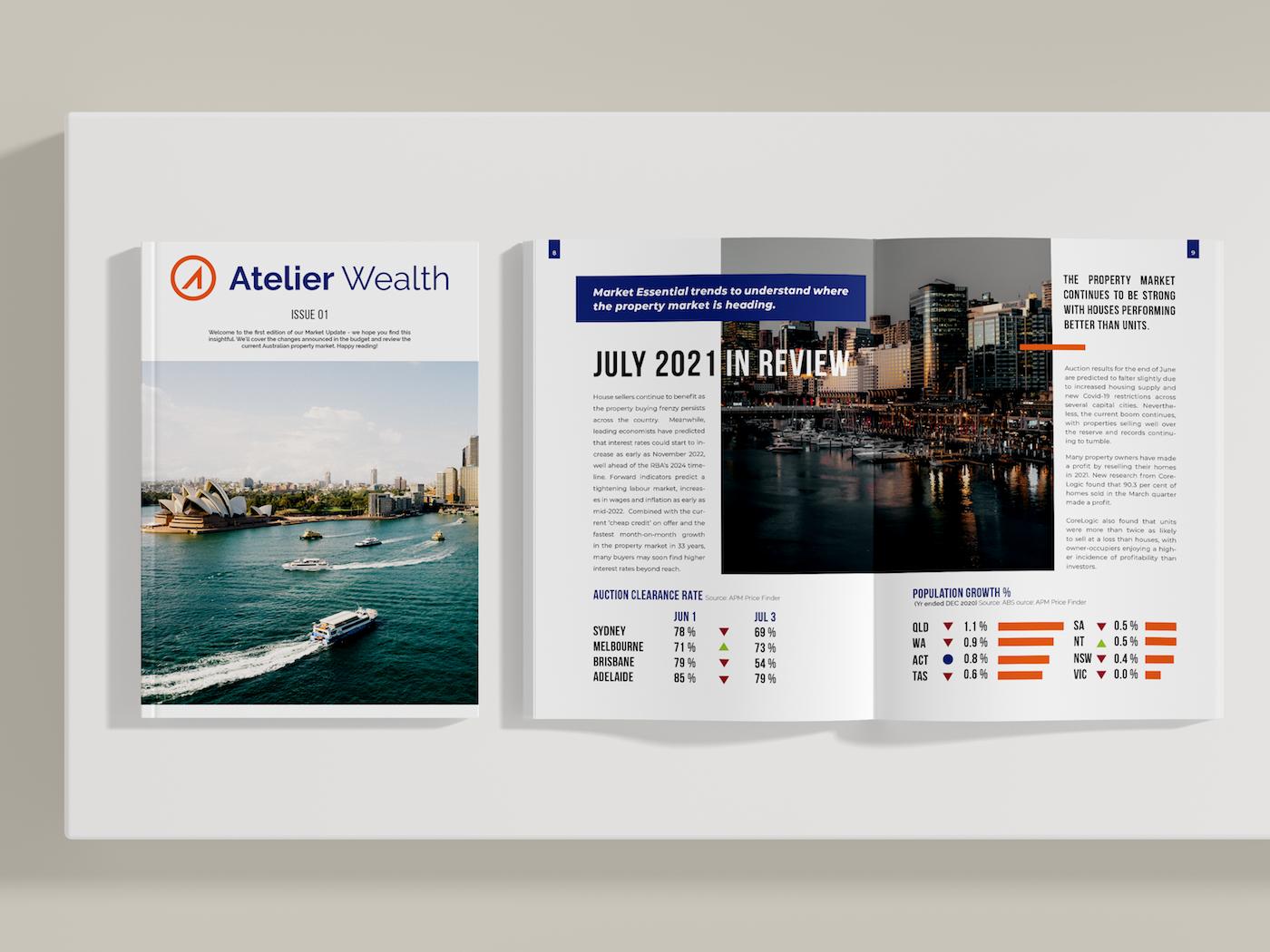 Magazine Design for Mortgage Broker