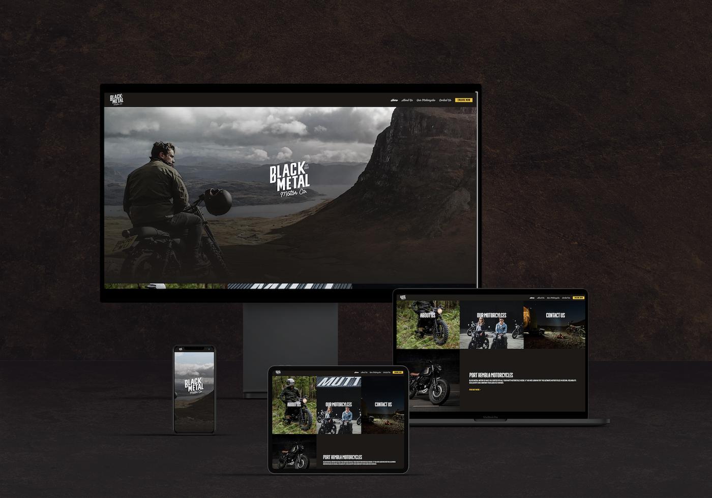 Web Design For Motorcycle Retailer