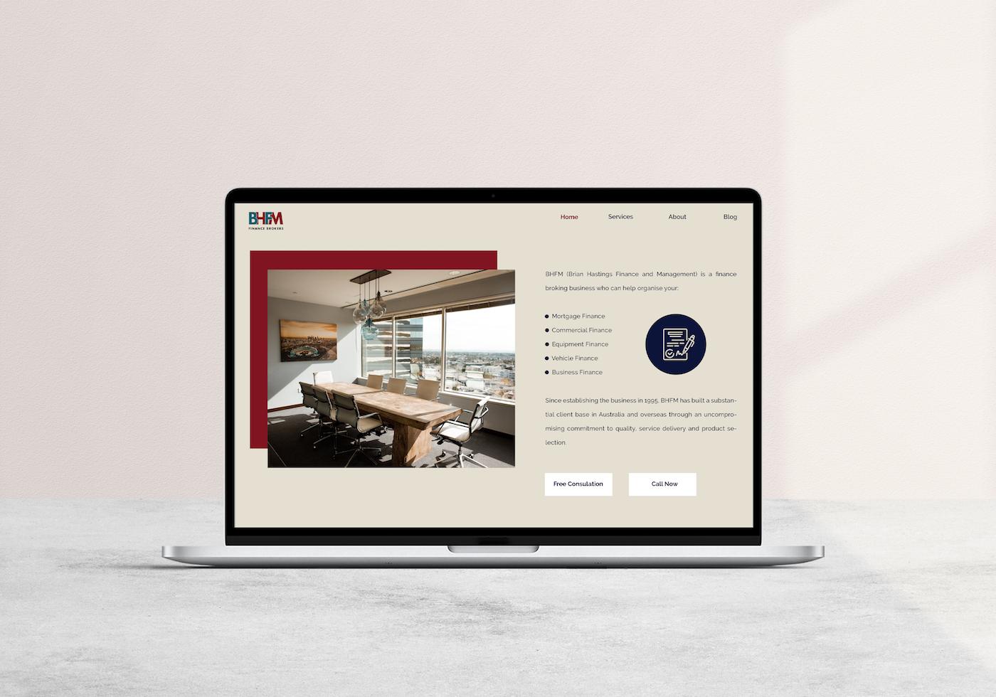 Website Design For Mortgage Broker
