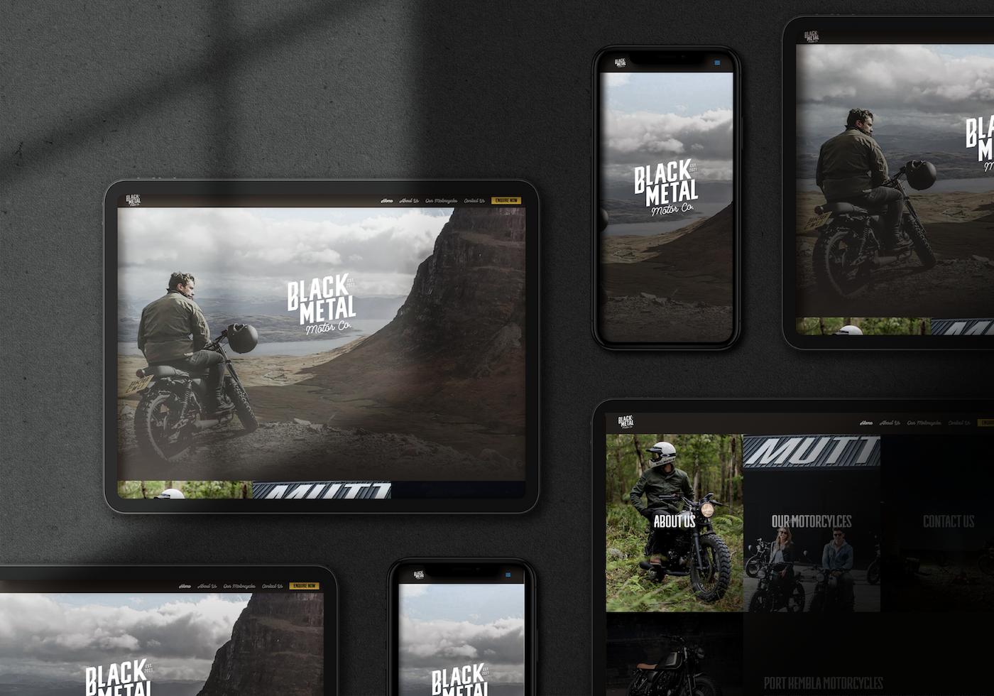 Website Design For Motorcycle Retailer
